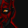 Darth Maul by x0mbi3s