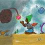 Ocean friends by Ladycuttlecow