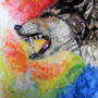 Wolf by ArtFromTheHeart