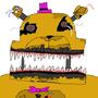 nightmare fredbear by godzilla24