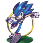 Sonic The Hedgehog by TopSpinThefuzzy