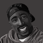 Tupac Shakur by Prizzy96