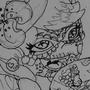 Sugar skull Callie by HlihorAlecsandra