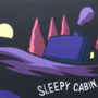 Sleepy Cabin Poster