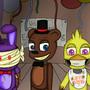 broken animatronics FNAF2 by doodlebotART