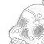 Sugar Skull by cosmickittygal567