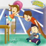 Just Kidding Films Baby Edition: Casey, Tiff and Isaac by DeeSeeDraws