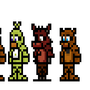 FNAF Sprites by morganstedmanmsNG