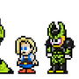 DBZ Androids by morganstedmanmsNG
