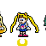 Sailor Scouts Sprites by morganstedmanmsNG