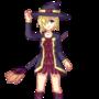 Halloween Witch Elaine by GrumpySheep