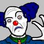 Manic clown by DouglasUFO