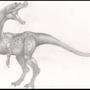 Spamosaurus by L3pra
