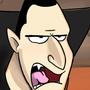Grumpy Dracula by Ztoons