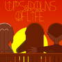 Ups & Downs of Life Sunset Poster by JTBPreston
