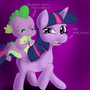 mlp: spike gets high while on a pony ride by boredsteve