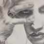 WIP Marilyn Manson by kobirae