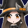 Chibi Pumpkin Witch by Toka-art