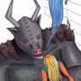 Grimataur by cwmur