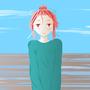 Lineless Gradient Girl by Perceptor555
