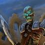 Skeleton Warrior by JanosCsernik