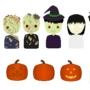 Candy Whack Pixel Characters by applessmillion