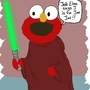 Jedi Elmo by BiGEd5