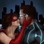 Superhero Couple by DikkiDirt