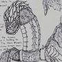 The Blacksmith's Steel Dragon by J-Frisky