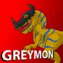 Greymon by dragonkid85