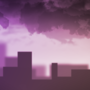 Noisysundae wallpaper - Dusky raincloud by Noisysundae