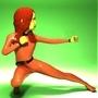 Pixar-style Girl Superhero by Morphman86