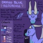 Drako reference by darkodraco