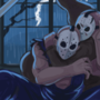Jason vs Splatterhouse by Shamoozal