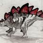 Stegosaurus by BirdGVee