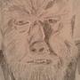 Lon Chaney Jr asThe Wolfman by ArtofArti