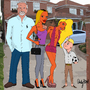 The Essex Posh Family by andypdm