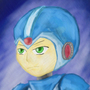 Mega man by Vixuzar