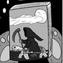 Walabie The Rabbit - Cartoon Strip 2 by oldmanorange