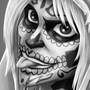 Day of the Dead piece by Fullmetal-Animator