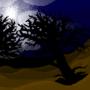 Halloween pixel art [wallpaper] by Jeyzor