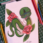 Green Snake by RustyLeatherhand