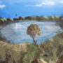 For My Aunt: A Simple Lake by GrumpySheep