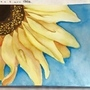 10/25/15 Sunflower in Watercolor by HannahOnyx