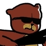 Bear with a shotgun by HipsterSquid