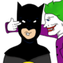 Joking With Batman by lylliandoodles