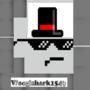 Woogishark (me) by IceTheSnowElf