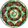 Monarch Platter by MichaelZastrow
