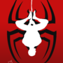 Spiderman reverse silhouette by LucasDimension