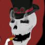 Classy Smoking S.K.ull by paranoiaman